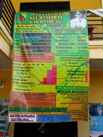 Rekapitulasi APBDes Tahun 2017 Desa Tarajusari